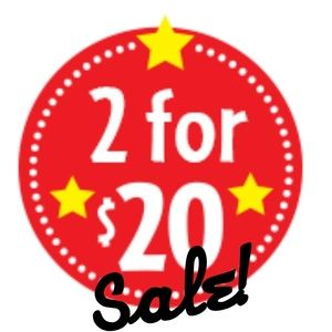 💋2 for $20 sale!